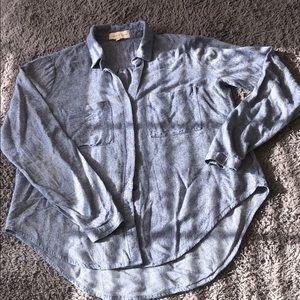 Cloth & Stone button down shift size S